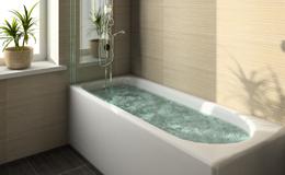 お風呂で水漏れ