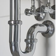 洗面台のトラップ継目から水漏れ